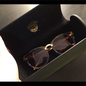 Wildfox sunglasses Lavender/gold/yellow